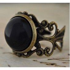 NERO Vintage Tarzı Akik Yüzük http://ladymirage.com.tr/yuzukler.html/nero-vintage-tarzi-akik-y%C3%BCz%C3%BCk-58315895.html?limit=100 #siyah #akik #taşı #orjinal #küpe #takı #tasarım #elyapımı