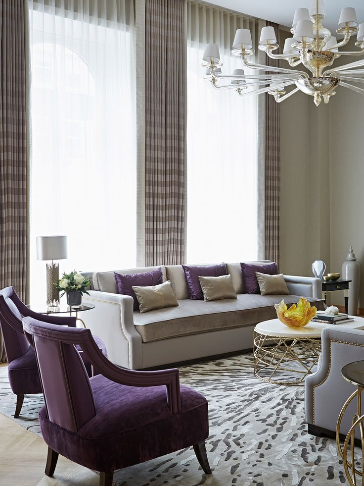 Find this Pin and more on A little style with your coffee. 25  best ideas about Purple Living Rooms on Pinterest   Purple
