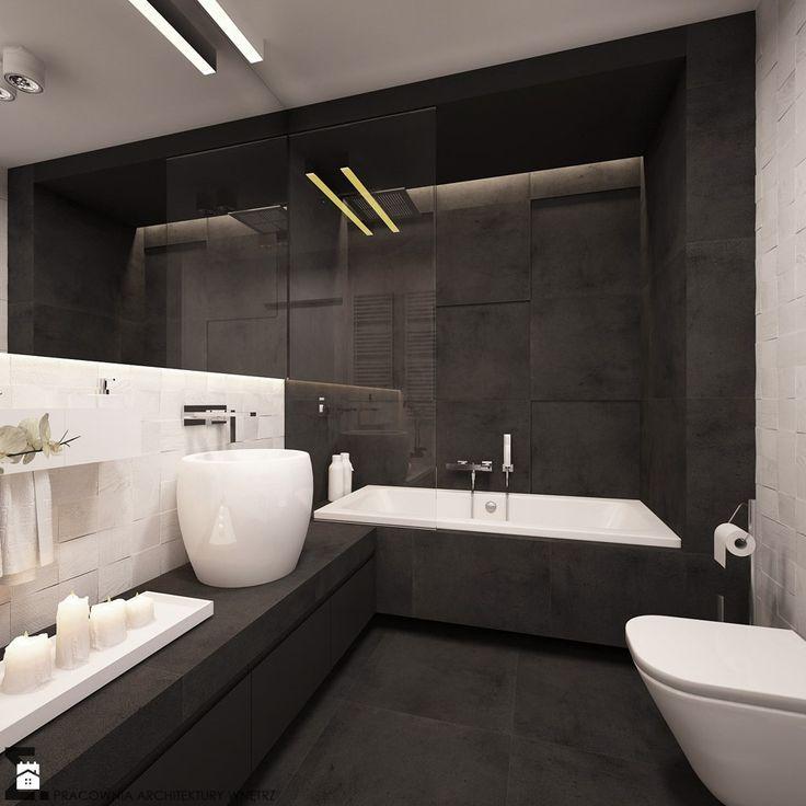 Łazienka styl Minimalistyczny - zdjęcie od ELEMENTY - Łazienka - Styl Minimalistyczny - ELEMENTY