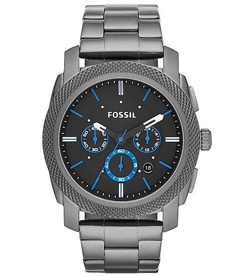 Fossil Machine Watch - Men's Watches | Buckle