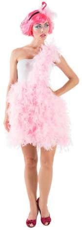 buttinette Kostüm Flamingo für Damen, Rock aus verstärktem Flies und Federn, mit einseitigem Träger, inkl. Haarreif mit Flamingo-Kopf aus Moosgummi, Body mit einseitigem Träger und Hakenverschluss. Farbe: rosa/weiß. Material: Body: 92 % Polyamid, 8 % Elasthan, Rock Obermaterial: 100 % Polypropylen, Rock Innenfutter 100 % Polyester. Lieferumfang: Federrock mit Schärpe, Body und HaarreifAchtung:Der Verlust von einige...
