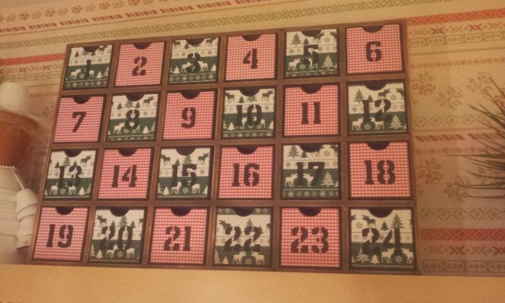 Adventskalender Boxen