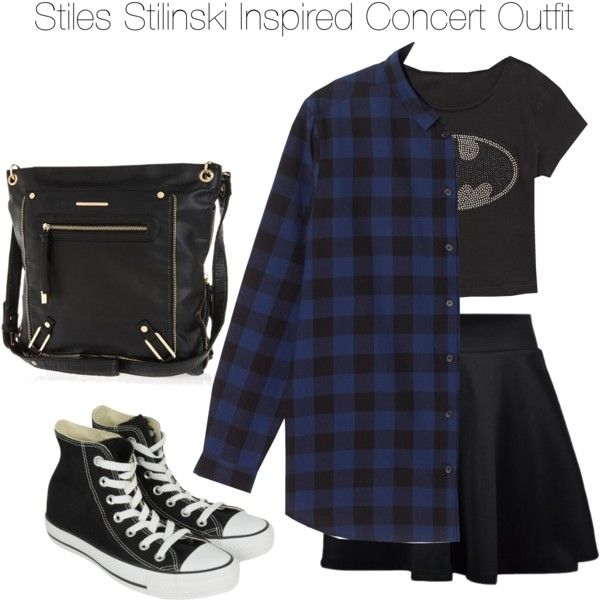 """Teen Wolf - Stiles Stilinski Inspired Concert Outfit"" by staystronng on Polyvore"