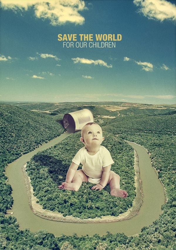 /// Save the world /// by Alexis Persani, via Behance