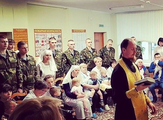 We are happy to announce that 19 children of all ages who live in this Childcare Home have received the #SacramentofBaptism. The brothers from the Rehabilitation Centre, sisters of mercy, personnel of this facility, as well as soldiers and officers of a neighbouring military unit became their godparents.