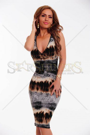 Rochie Fofy Perfect Charm Brown