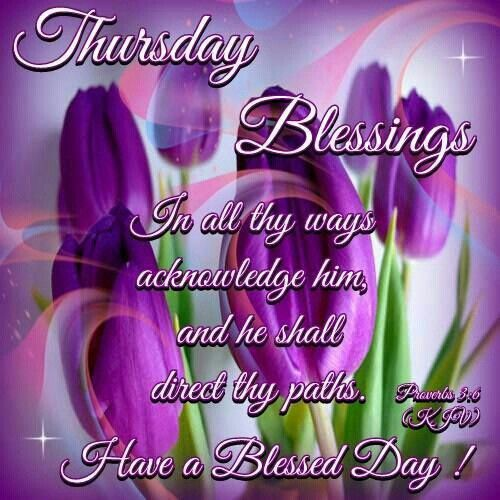 Blessed Thursday Quotes And Images Archidev