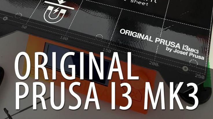 The Original Prusa i3 mk3 3D Printer - Debuting at Maker Faire New York 2017 #MFNY17