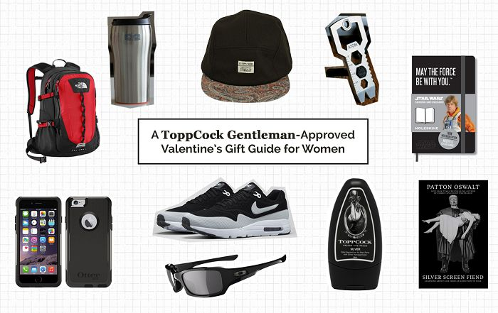 A ToppCock Gentleman-Approved Valentine's Gift Guide for Women
