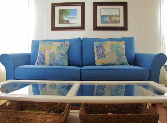 Custom sofa slipcover 61 to 90 inch 4 cushions for 90 inch couch
