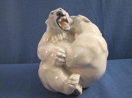 Polarbears from Royal Copenhagen. See mora at http://retoro.se