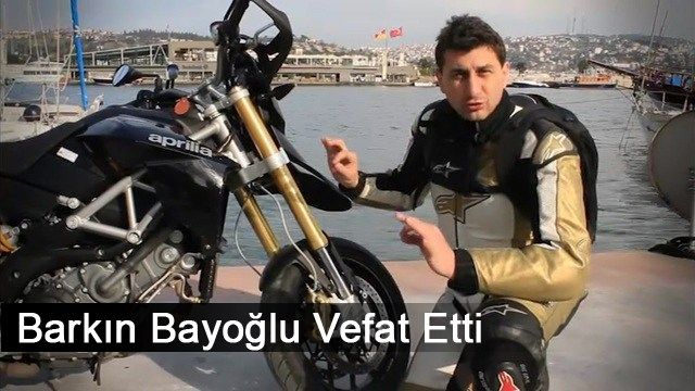 Altın Elbiseli Adam Lakaplı Ünlü Motosikletçi Hayatını Kaybetti