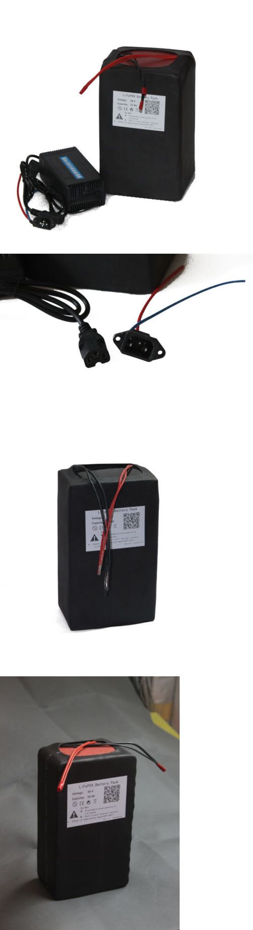 Electric Bicycle Components 177814: 48V 20Ah Lifepo4 Battery Pack Power For Ebike Free Charger New Cell BUY IT NOW ONLY: $490.0