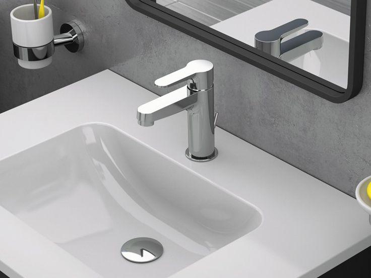 WINNER Miscelatore per lavabo by Remer Rubinetterie design Cristian Mapelli