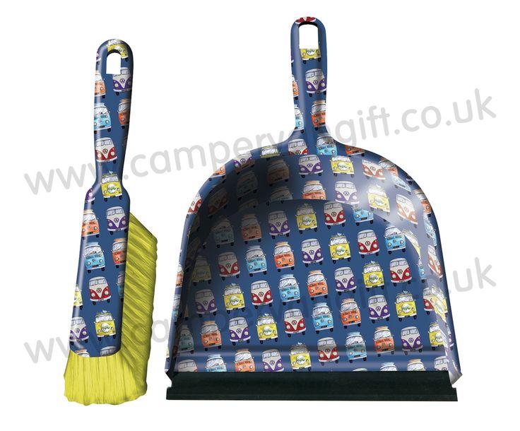 Campervan Gift - Campervan Dustpan and Brush Set, £3.95 (http://www.campervangift.co.uk/campervan-dustpan-and-brush-set/)