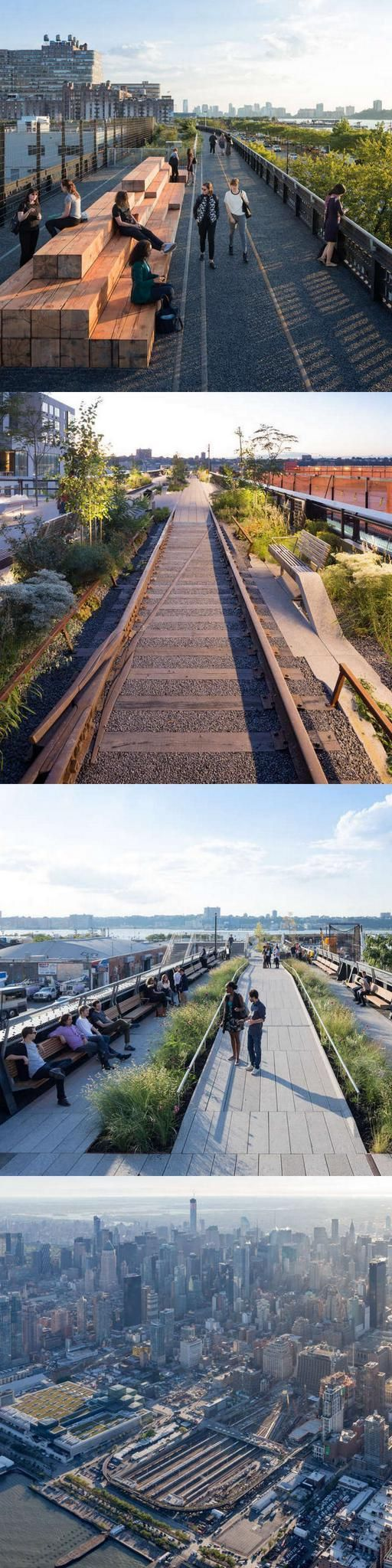The third and final phase of New York City's High Line opened to the public in September 2014. Click image for link to full profile and visit the slowottawa.ca boards >> https://www.pinterest.com/slowottawa/: