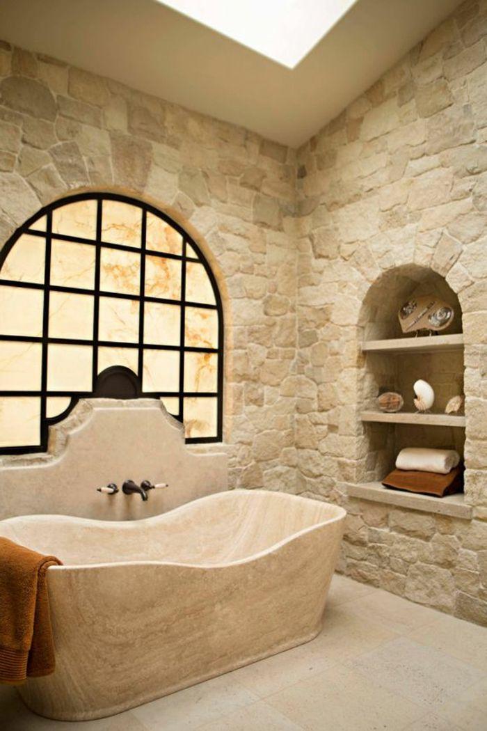 1001 id es pour cr er une salle de bain nature niches for Niche murale salle de bain