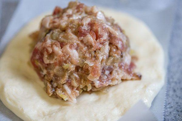 Steamed buns.  From: http://norecipes.com/blog/2012/01/15/nikuman-baozi-recipe/