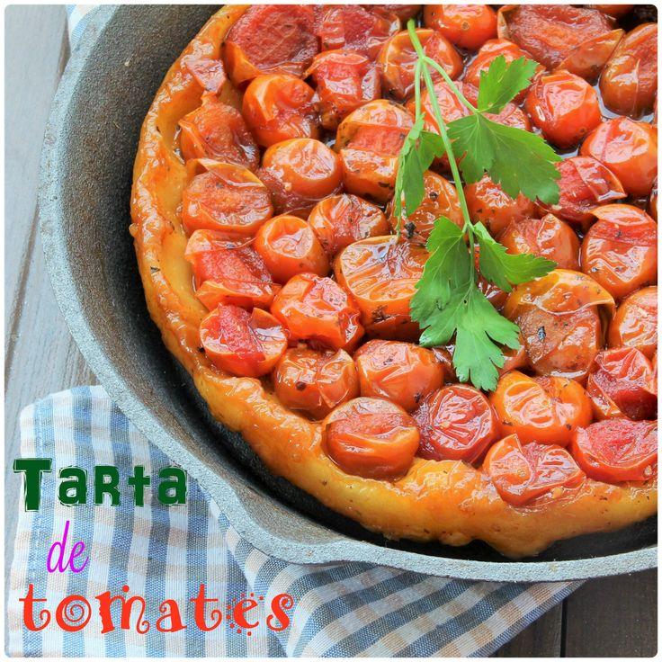 El otro día viendo Loreta en el canal cocina (me encanta) comentó que hacia una tarta tatín con tomates cherrys, no dudé y lo busque en su...