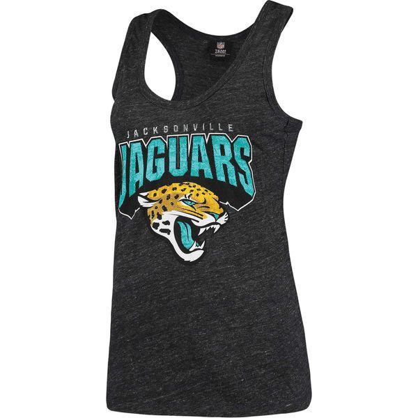 New mens black jacksonville jaguars cotton team tank top  free shipping