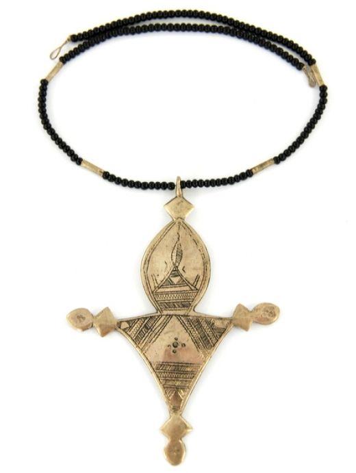 Tuareg necklace cross http://www.etnobazar.pl/search/tuareg?limit=128