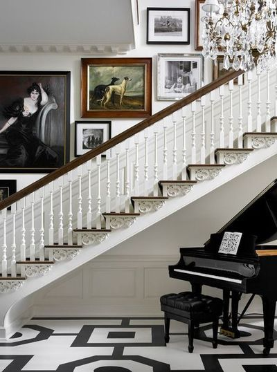 17 best images about foyers & stairs & halls on pinterest ...