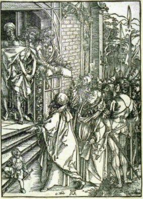 Albrecht Dürer (German, 1471-1528). Ecce Homo, 1498-1500. The University of Michigan Museum of Art, Michigan. Museum Purchase, 1953. http://www.umma.umich.edu