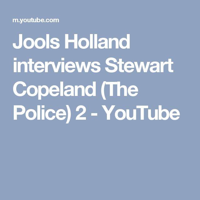 Jools Holland interviews Stewart Copeland (The Police) 2 - YouTube