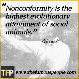 Aldo Leopold Famous Quotes | Aldo Leopold Biography - Childhood, Life Achievements & Timeline