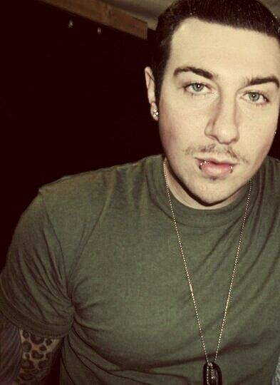 Zacky Vengeance with a mustachio ^.^