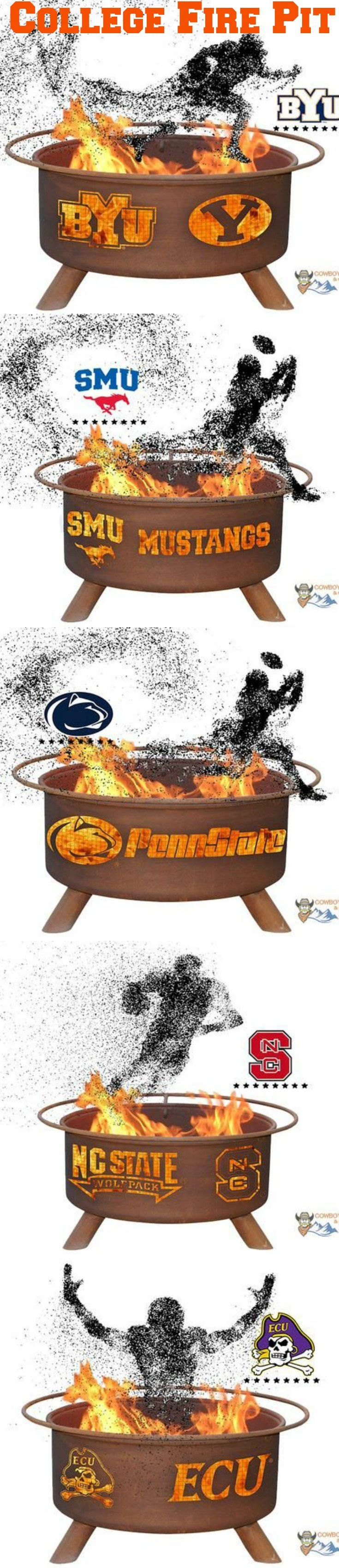 Fire Pit Tailgate Show Your Pride and Entertain your Friends with the Wake Forest University Fire Pit! – College Fire Pit