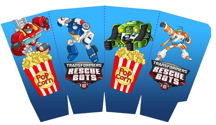 Free party printables. Transformers Rescue Bots: Free Printable Kit. | Oh My Fiesta! in english