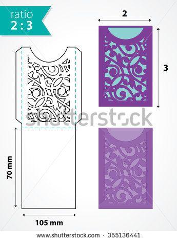 25+ unique Envelope templates ideas on Pinterest DIY stationery - sample envelope liner template