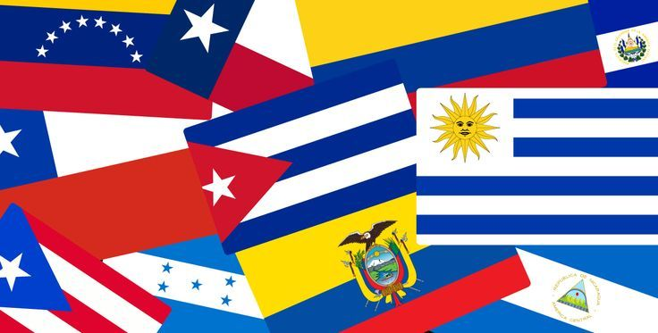 Great article with history of Latin American flags and tricks to tell them apart