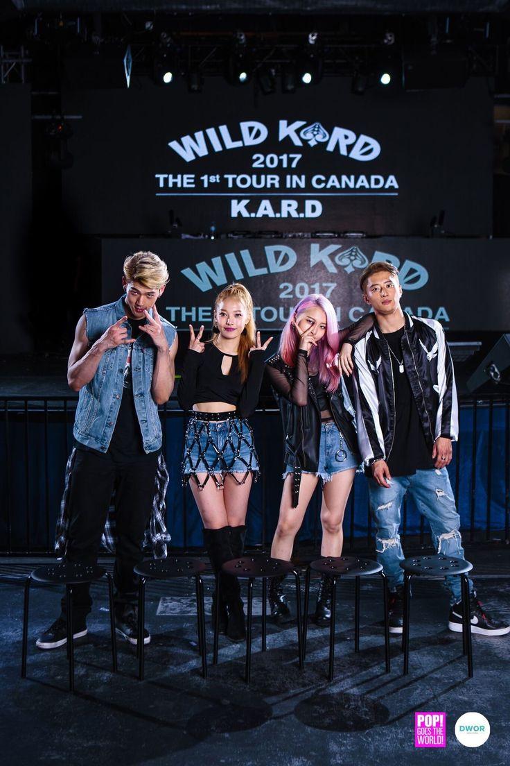 BM, Jiwoo, Somin and J.Seph | K.A.R.D