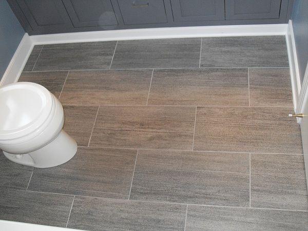 Bathroom Remodel Grey Tile