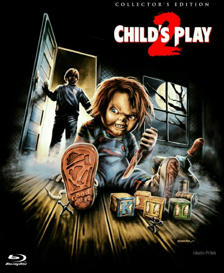 Child's Play 2 Collector's Edition Horror Movie Slasher