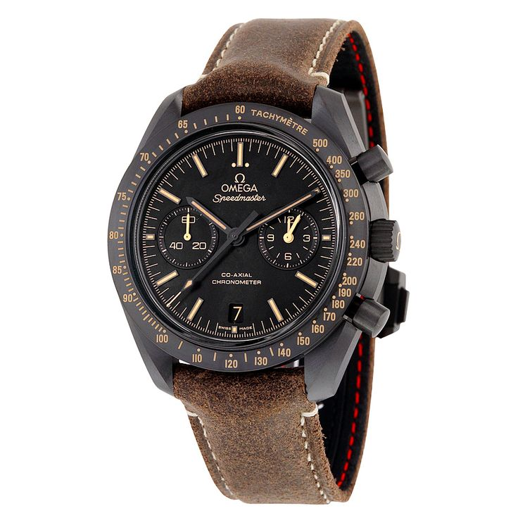Omega Speedmaster Moonwatch Co-Axial Black Dial Chronograph Automatic Men's Watch 31192445101006