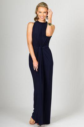 Claudia Maxi Dress - Navy