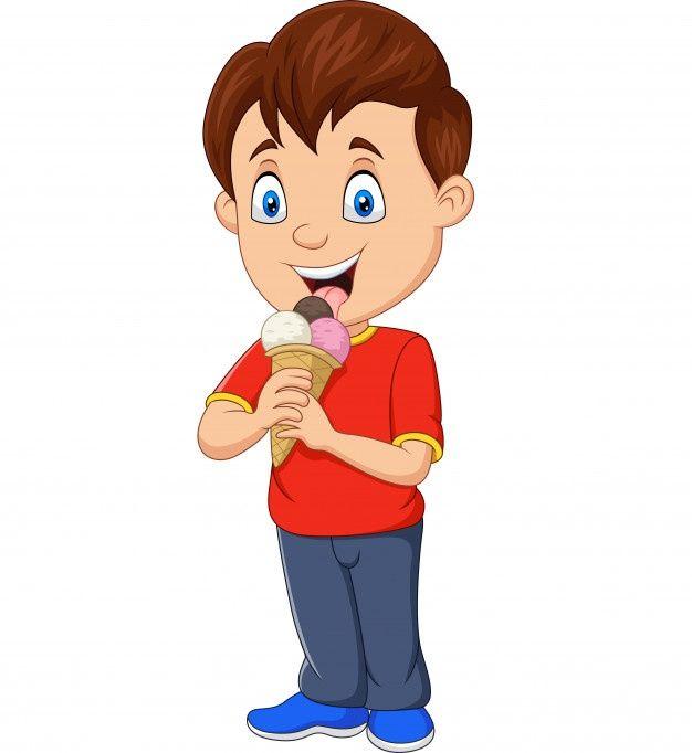 Nino De Dibujos Animados Comiendo Helado Premium Vector Freepik Vector Comida Bebe Ninos Ho Ninos Dibujos Animados Como Dibujar Ninos Helado Animado