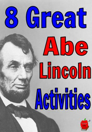 Are you looking for Abraham Lincoln activities for your classroom. Then you will love these 8 activities perfect for Kindergarten. Have fun celebrating Abraham Lincoln this President's Day.