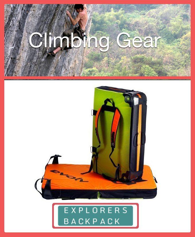 Bouldering crash pad for your next rock climbing adventure.