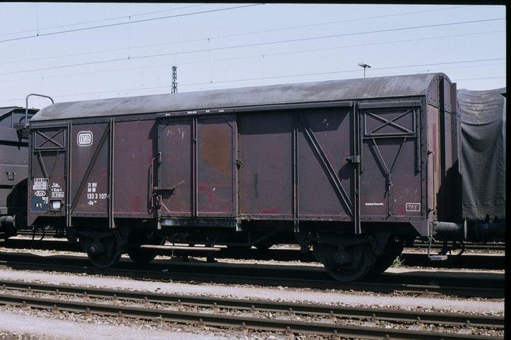 DB Gls 245 1333 107 (17.05.1983, München-Laim Rbf.)