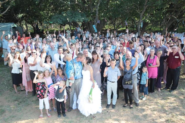 Bushveld wedding underthe Figtree