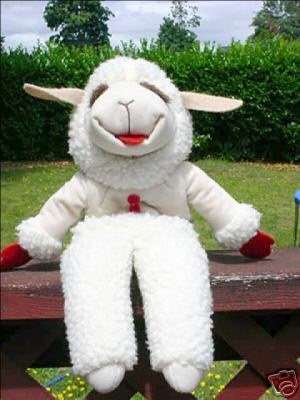 Lamb Chops Puppet from the Shari Lewis show... I almost forgot about this favorite!