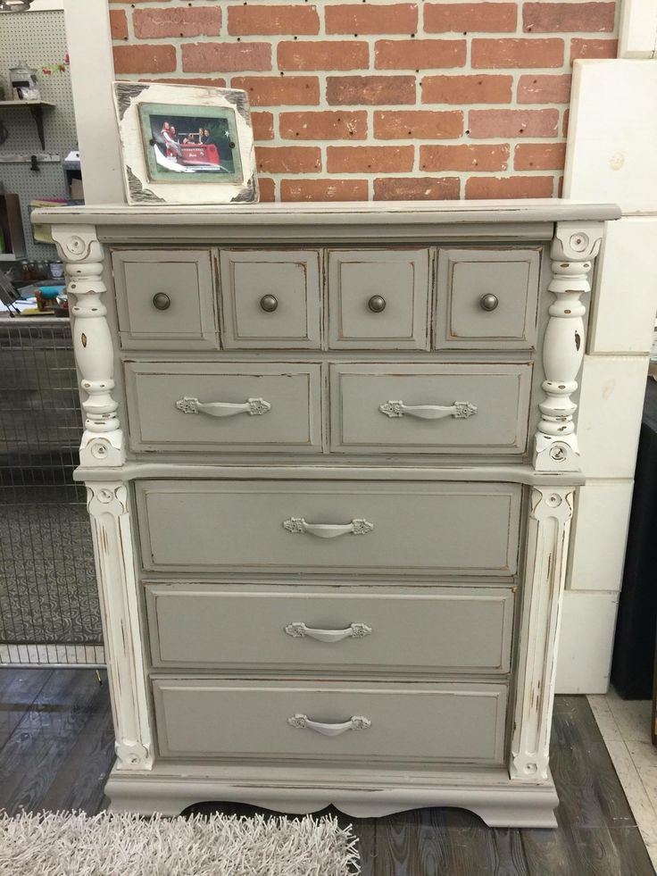 how to get distressed paint timber furniture