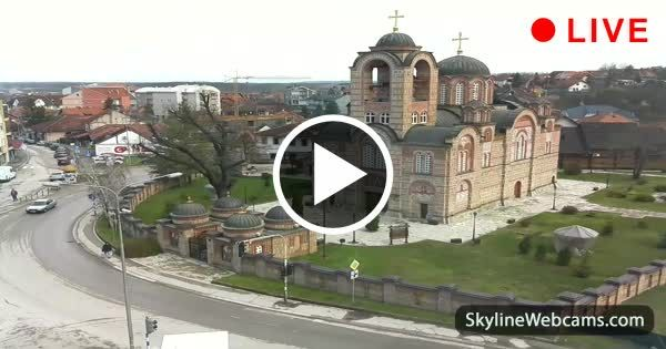 Lovely live view of the main church of #Ub #Serbia