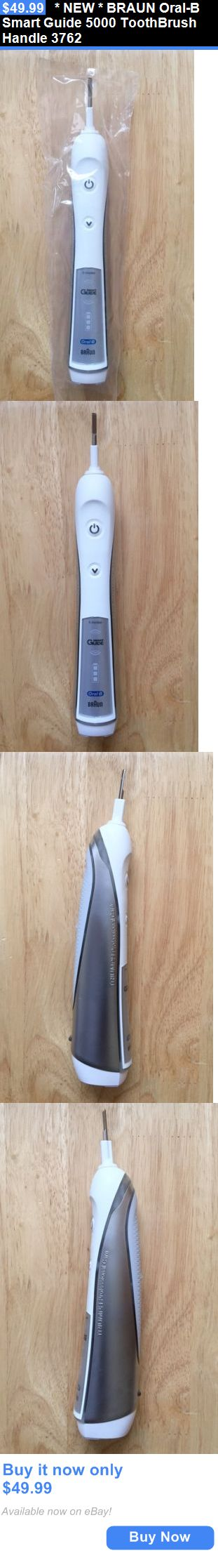 Electric Toothbrushes: * New * Braun Oral-B Smart Guide 5000 Toothbrush Handle 3762 BUY IT NOW ONLY: $49.99