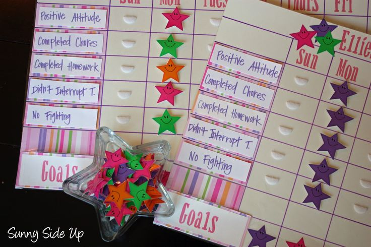 They're back! My star behavior charts. The same star behavior charts I made for my girls in 2009 when they were 3 & 5 years old. The same star behavior charts that I pull out every summer when we need a little extra something to keep us on track.  These babies never disappoint! My …
