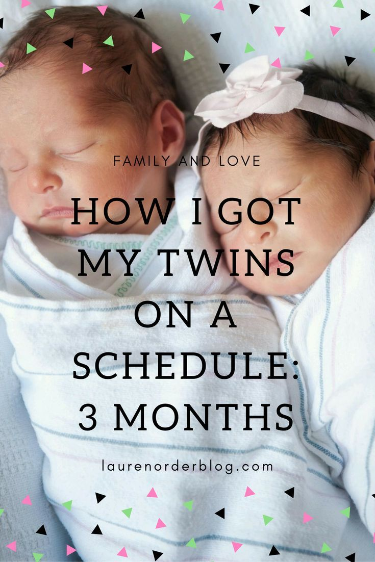 twins baby schedule 3 months old babies